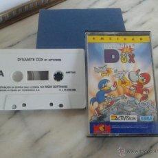 Videojuegos y Consolas: DYNAMITE DUX JUEGO AMSTRAD CASSETTE. Lote 49100885