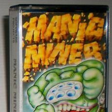 Videojuegos y Consolas: MANIC MINER [SOFTWARE PROJECTS / AMSOFT] 1983 [AMSTRAD CPC]. Lote 36053492
