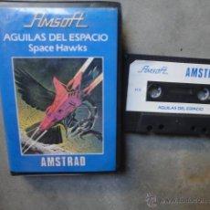 Videojuegos y Consolas: JUEGO CASETE ORIGINAL AMSTRAD AGUILAS DEL ESPACIO SPACE HAWKS INDESCOMP 1984. Lote 49195189