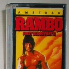Videojuegos y Consolas: RAMBO - FIRST BLOOD PART II [OCEAN] 1986 THE HIT SQUAD - ERBE SOFTWARE [AMSTRAD CPC] 2. Lote 49226853