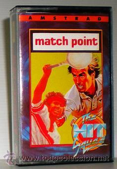 MATCH POINT [PSION] 1985 THE HIT SQUAD - ERBE SOFTWARE [AMSTRAD CPC] MATCHPOINT (Juguetes - Videojuegos y Consolas - Amstrad)