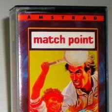 Videojuegos y Consolas: MATCH POINT [PSION] 1985 THE HIT SQUAD - ERBE SOFTWARE [AMSTRAD CPC] MATCHPOINT. Lote 49227108