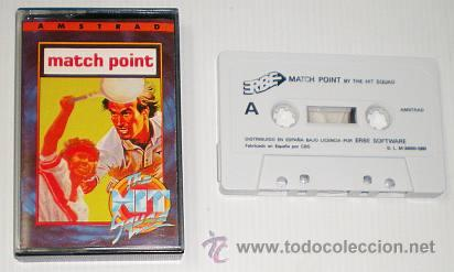 Videojuegos y Consolas: Match Point [Psion] 1985 The Hit Squad - Erbe Software [AMSTRAD CPC] MatchPoint - Foto 3 - 49227108