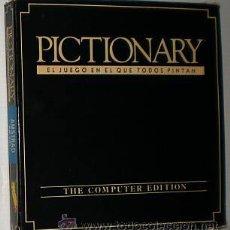 Videojuegos y Consolas: PICTIONARY [DOMARK] [1989] ERBE SOFTWARE [AMSTRAD CPC]. Lote 49329431