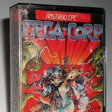 Videojuegos y Consolas: MEGA-CORP [DINAMIC SOFTWARE] [1987] [AMSTRAD CPC] MEGACORP AVENTURAS AD. Lote 49332959