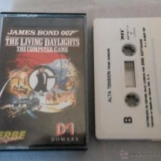 Videojuegos y Consolas: JUEGO PARA AMSTRAD JAMES BOND 007. Lote 49725925