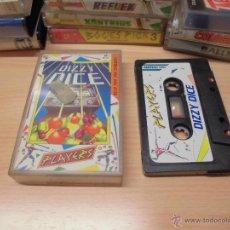 Videojuegos y Consolas: JUEGO AMSTRAD-DIZZY DICE-COMPLETO-INSTRUCCIONES EN INTERIOR-ED.ESPAÑOLA. Lote 49737472