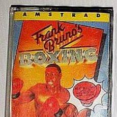 Videojuegos y Consolas: FRANK BRUNO´S BOXING [ELITE] 1985 ENCORE / MCM SOFTWARE - ERBE SOFTWARE [AMSTRAD CPC]. Lote 42670403