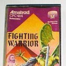 Videojuegos y Consolas: FIGHTING WARRIOR FROM MELBOURNE HOUSE [1985] ERBE SOFTWARE [AMSTRAD CPC]. Lote 43568723