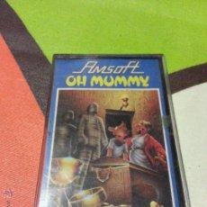 Videojuegos y Consolas: JUEGO OH MUMMY PARA AMSTRAD CPC464- CINTA. Lote 51169115