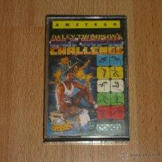 Videojuegos y Consolas: JUEGO EN CASETE PARA AMSTRAD DALEY THOMPSON`S OLIMPIC CHALLENGE. Lote 51508039