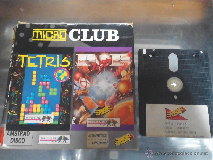 Video Juego Tetris Y Pop Up 2x1 Solo 1 Disco Mi Comprar