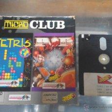 Videojuegos y Consolas: VIDEO JUEGO TETRIS Y POP UP 2X1 SOLO 1 DISCO MICRO CLUB EN CAJA. Lote 51706163