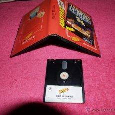 Videojuegos y Consolas: AMSTRAD ERBE DISK VERSION WEC LE MANS SPANISH VERSION ESTUCHE. Lote 51692347