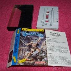 Videojuegos y Consolas: AMSTRAD HEWSON STORMLORD VERSION ESPAÑOLA CASSETTE. Lote 51693031