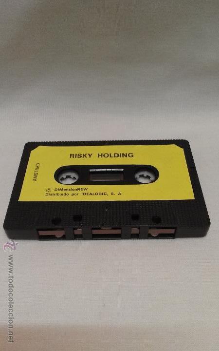 AMSTRAD - JUEGO RISKY HOLDING DE AMSTRAD (Juguetes - Videojuegos y Consolas - Amstrad)