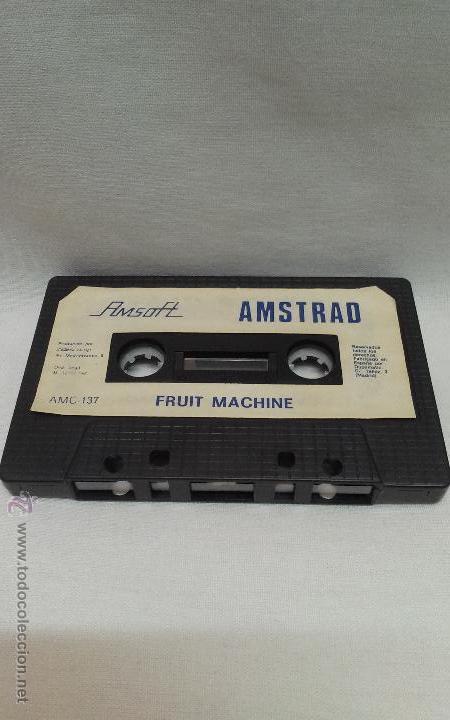 AMSTRAD - JUEGO FRUIT MACHINE DE AMSTRAD (Juguetes - Videojuegos y Consolas - Amstrad)