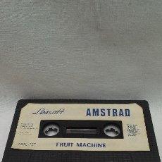 Videojuegos y Consolas: AMSTRAD - JUEGO FRUIT MACHINE DE AMSTRAD . Lote 51721349