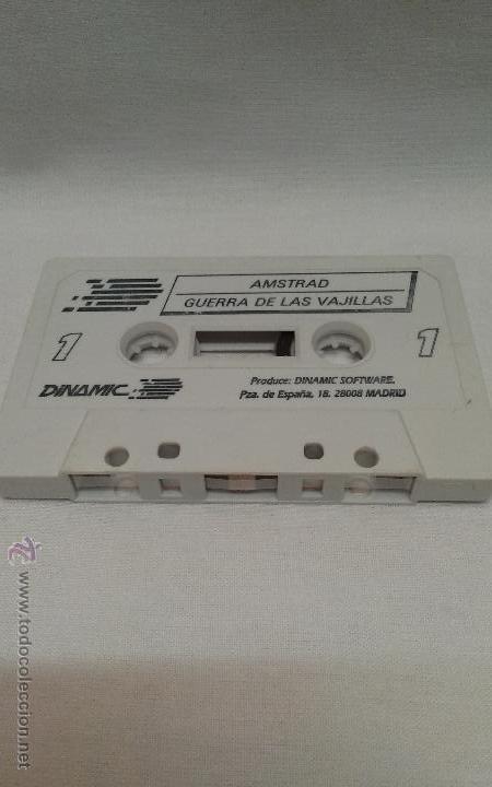 AMSTRAD - JUEGO GUERRA DE LAS VAJILLAS DE AMSTRAD (Juguetes - Videojuegos y Consolas - Amstrad)