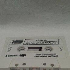 Videojuegos y Consolas: AMSTRAD - JUEGO GUERRA DE LAS VAJILLAS DE AMSTRAD . Lote 51721435