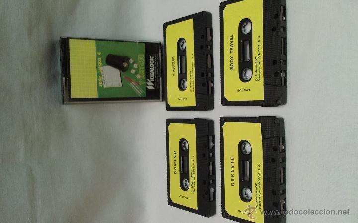 Videojuegos y Consolas: AMSTRAD - LOTE DE 4 JUEGOS - BODY TRAVEL , GERENTE , DOMINO, YAHTZEE DE AMSTRAD - Foto 2 - 51721478