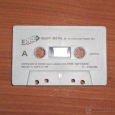 Videojuegos y Consolas: JUEGO AMSTRAD 'HEAVY METAL', SIN CAJA.. Lote 51982056