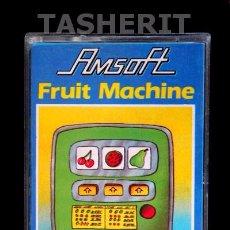 Videojuegos y Consolas: FRUIT MACHINE - AMSTRAD CPC CINTA DE CASETE RETRO 8 BITS JUEGO EN CASSETTE AMSOFT. Lote 52022926