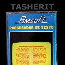 Videojuegos y Consolas: PROCESADOR DE TEXTO - AMSTRAD CPC CINTA CASETE VERSION ESPAÑOLA AMSOFT JUEGO CASSETTE. Lote 52024657