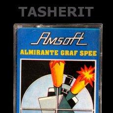 Videojuegos y Consolas: ALMIRANTE GRAF SPEE - AMSTRAD CPC CINTA CASETE VERSION ESPAÑOLA AMSOFT JUEGO CASSETTE. Lote 52024666