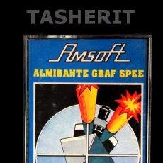 Videojuegos y Consolas: ALMIRANTE GRAF SPEE - AMSTRAD CPC CINTA CASETE VERSION ESPAÑOLA AMSOFT JUEGO CASSETTE. Lote 52024670