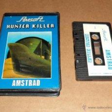 Videojuegos y Consolas: HUNTER KILLER PARA AMSTRAD CPC, AMSOFT. Lote 52047088