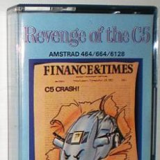 Videojuegos y Consolas: REVENGE OF THE C5 [ATLANTIS SOFTWARE] 1986-1987 - ZAFIRO Z-COBRA [AMSTRAD CPC] C-5. Lote 52277327