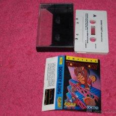 Videojuegos y Consolas: AMSTRAD ERBE 1987 DONKEY KONG SPANISH VERSION OCEAN. Lote 52534639