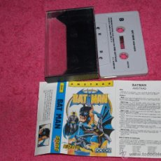 Videojuegos y Consolas: AMSTRAD CPC BAT MAN ERBE 1987 BY OCEAN SPANISH VERSION. Lote 52605966