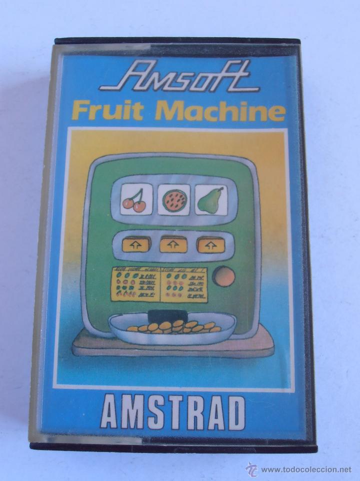JUEGO CINTA AMSTRAD AMSOFT FRUIT MACHINE (Juguetes - Videojuegos y Consolas - Amstrad)