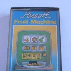 Videojuegos y Consolas: JUEGO CINTA AMSTRAD AMSOFT FRUIT MACHINE. Lote 52703376