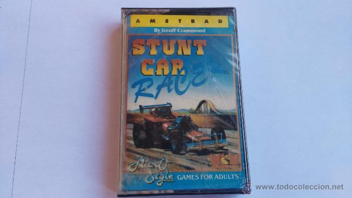 AMSTRAD JUEGO PRECINTADO STUNT CAR RACER (Juguetes - Videojuegos y Consolas - Amstrad)