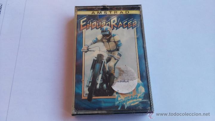 AMSTRAD JUEGO PRECINTADO ENDURO RACER (Juguetes - Videojuegos y Consolas - Amstrad)