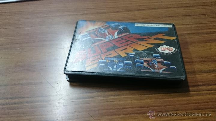 JUEGO CASSETTE AMSTRAD SUPESPRINT 1987 CINTA AMSTRAD (Juguetes - Videojuegos y Consolas - Amstrad)