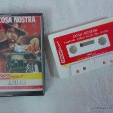 Videojuegos y Consolas: JJ. JUEGO COSA NOSTRA CASSETTE AMSTRAD. Lote 52942607