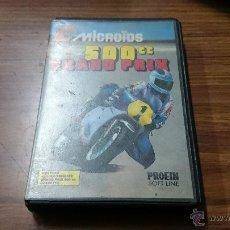Videojuegos y Consolas: JUEGO CASSETTE AMSTRAD 500 CC GRAND PRIX 1987 CINTA AMSTRAD. Lote 52962635