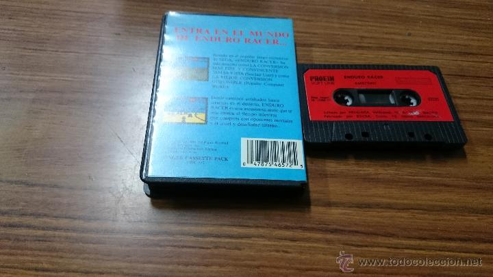 Videojuegos y Consolas: JUEGO CASSETTE AMSTRAD ENDURO RACER 1987 CINTA AMSTRAD - Foto 3 - 52962991