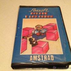 Videojuegos y Consolas: ROLAND Y LOS CUBOS AMSOFT AMSTRAD/JUEGO PARA ORDENADOR AMSTRAD. Lote 53047847