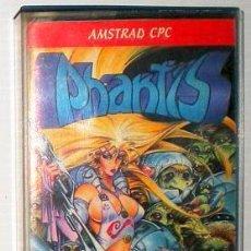 Videojuegos y Consolas: PHANTIS [DINAMIC SOFTWARE] 1987 [AMSTRAD CPC] GAME OVER 2 AZPIRI. Lote 53091290