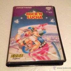 Videojuegos y Consolas: ROCK'N LUCHA AMSTRAD/JUEGO PARA ORDENADOR AMSTRAD ROCKN LUCHA. Lote 53285303