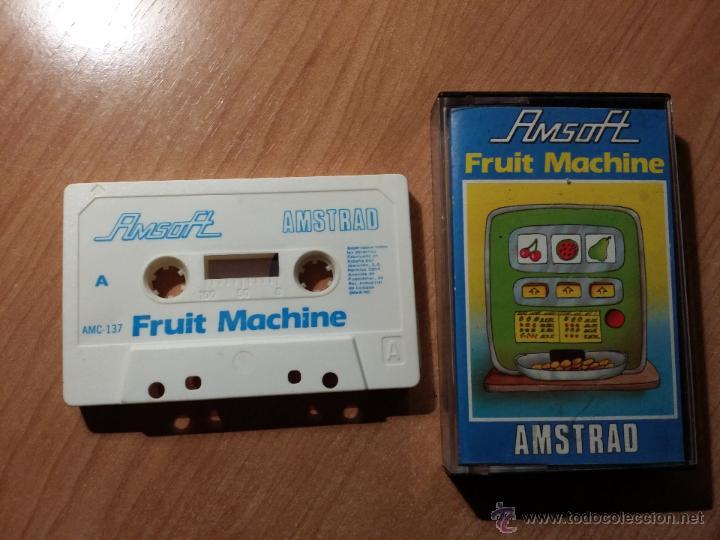FRUIT MACHINE - AMSTRAD (Juguetes - Videojuegos y Consolas - Amstrad)