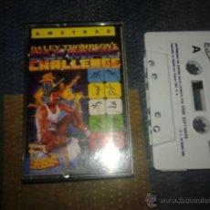 Videojuegos y Consolas: JUEGO CASETE ORIGINAL AMSTRAD,DALEY THOMPSOM'S CHALLENGE,CASETTE AMSTRAD. Lote 53798682