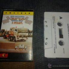 Videojuegos y Consolas: JUEGO CASETE AMSTRAD,SUPER TRUX,CASETTE AMSTRAD. Lote 53799722
