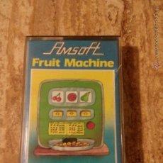 Videojuegos y Consolas: JUEGO DE AMSTRAD FRUIT MACHINE. Lote 53802936