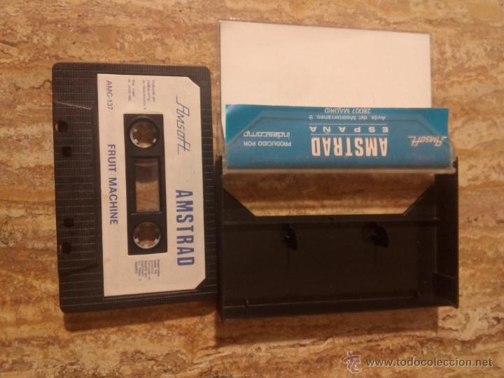 Videojuegos y Consolas: Juego de Amstrad Fruit Machine - Foto 3 - 53802936